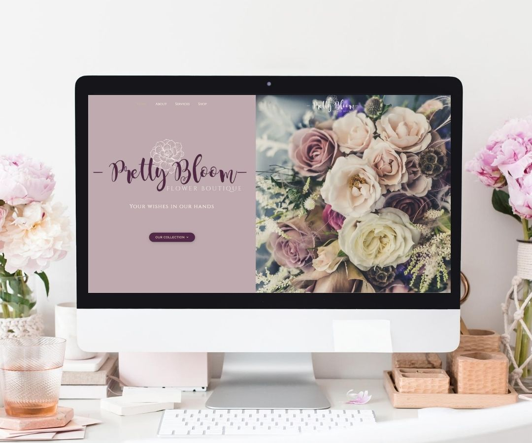 Feminine Florist Website Design